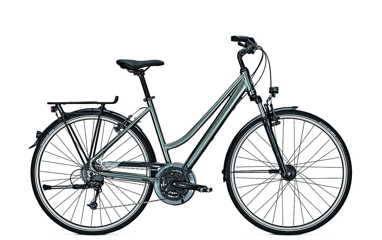 Kalkhoff Bicicleta de trekking Voyager 27 28 27 g trapezoidal ...