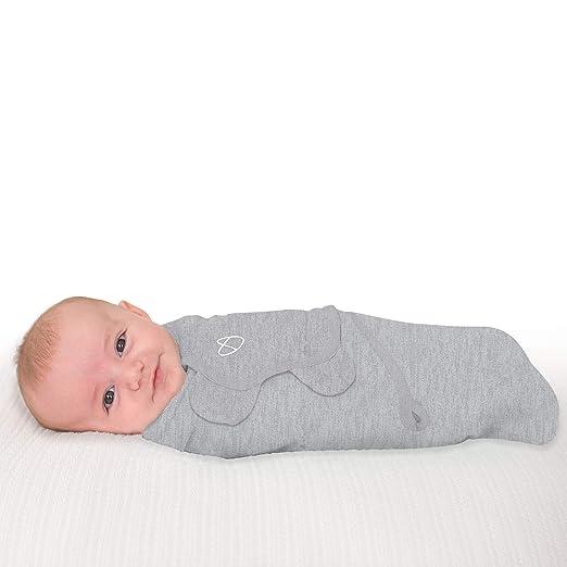 Amazon.com: SwaddleMe manta de bebé de algodón, Gris ...