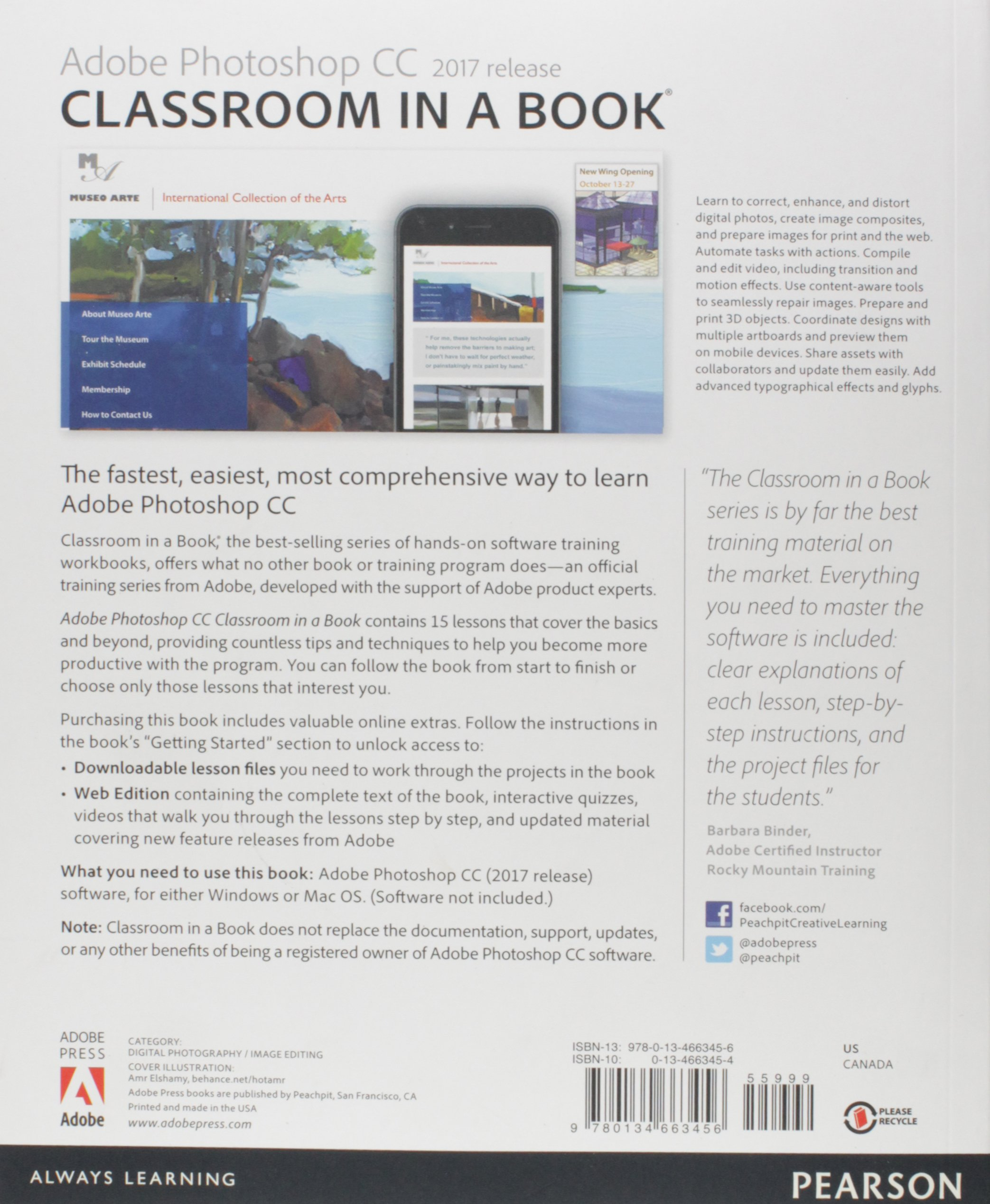 Adobe Photoshop Cc Classroom In A Book 2017 Release Andrew