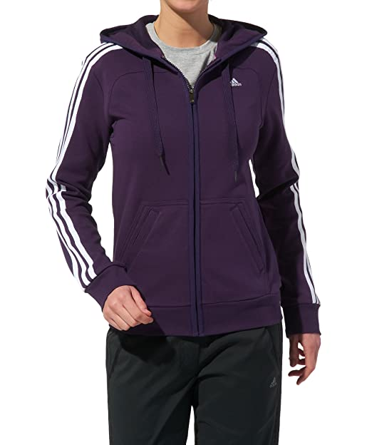 Adidas Giacca Sportiva Donna Viola XS: Amazon.it: Sport e