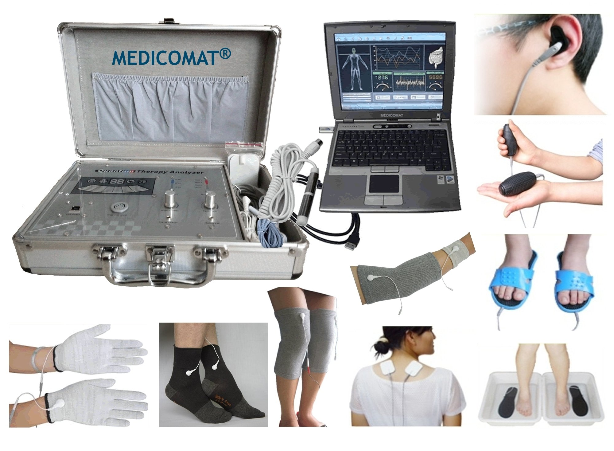 Home Health Testing Medicomat-29C Centers Health Analyzer Back Pain Testing Accuracy Rate Up To 85% and Treatment Computer System by Medicomat (Image #1)