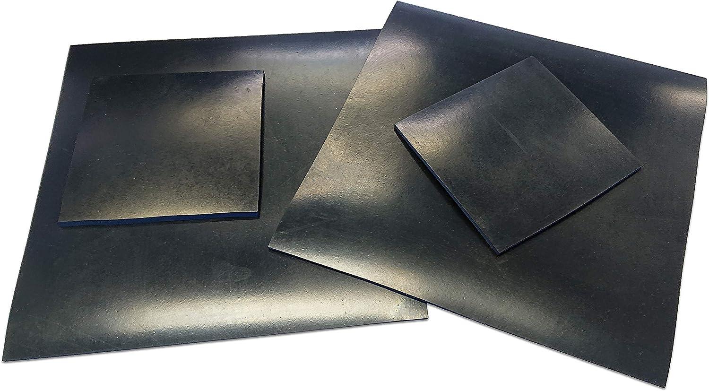 Feuille en caoutchouc n/éopr/ène 200/mm x 200/mm /épaisseur 2/mm