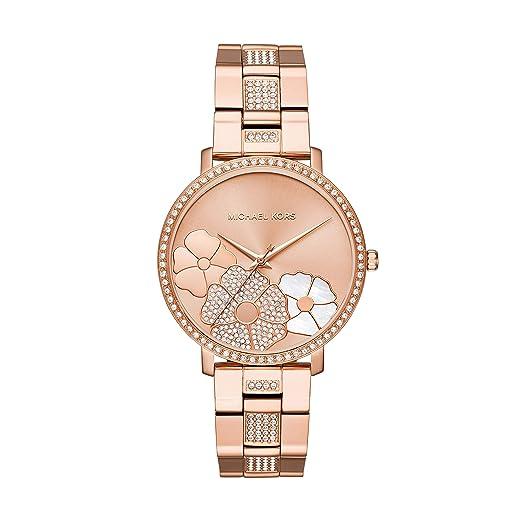 Amazon.com: Michael Kors MK3865 Jaryn Pave - Reloj de ...