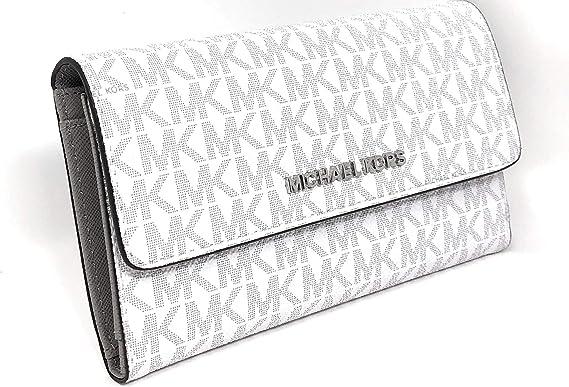 Michael Kors Women's Jet Set Travel Large Trifold Wallet