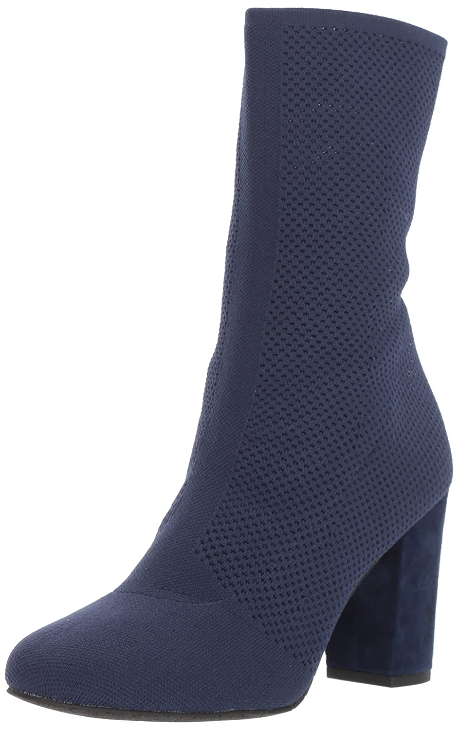 Kenneth Cole New York Women's Alyssa Stretch Shaft Heel Ankle Boot B073XK18PV 5 B(M) US|Navy