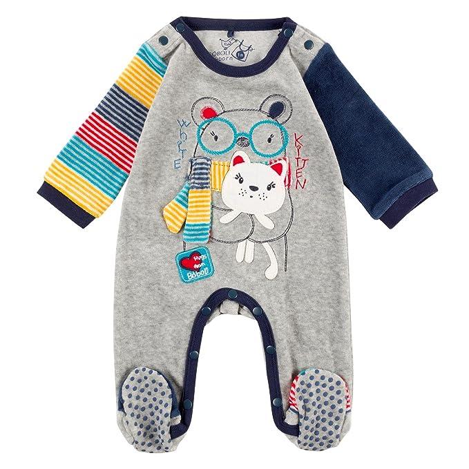 boboli, Pelele Terciopelo - Pelele Terciopelo para bebe - niños, color 8034, talla 2: Amazon.es: Ropa y accesorios