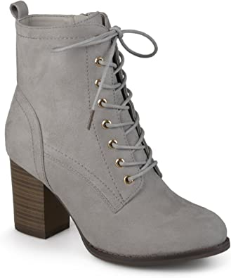 Journee Collection Womens Stacked Heel
