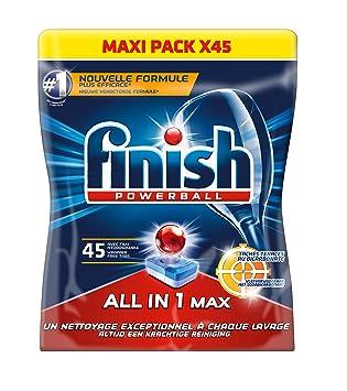 45 pastillas para lavavajillas, todo en uno, de la marca ...