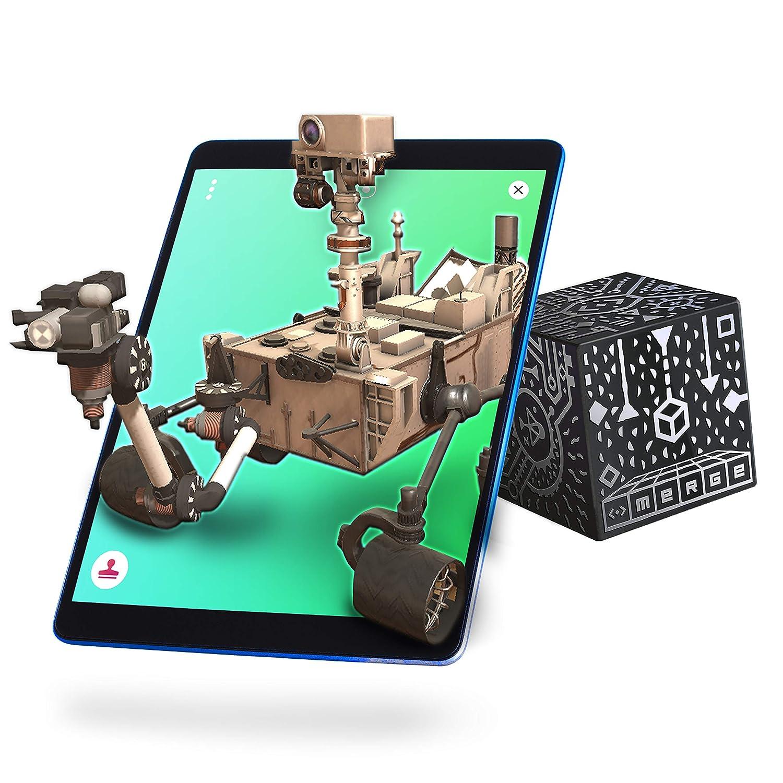 MERGE Cube (Edición de la UE): Mantenga un Holograma, Funciona con Gafas VR/AR e Incluye Juegos y Aplicaciones de AR gratuitos en los Idiomas Locales. ...