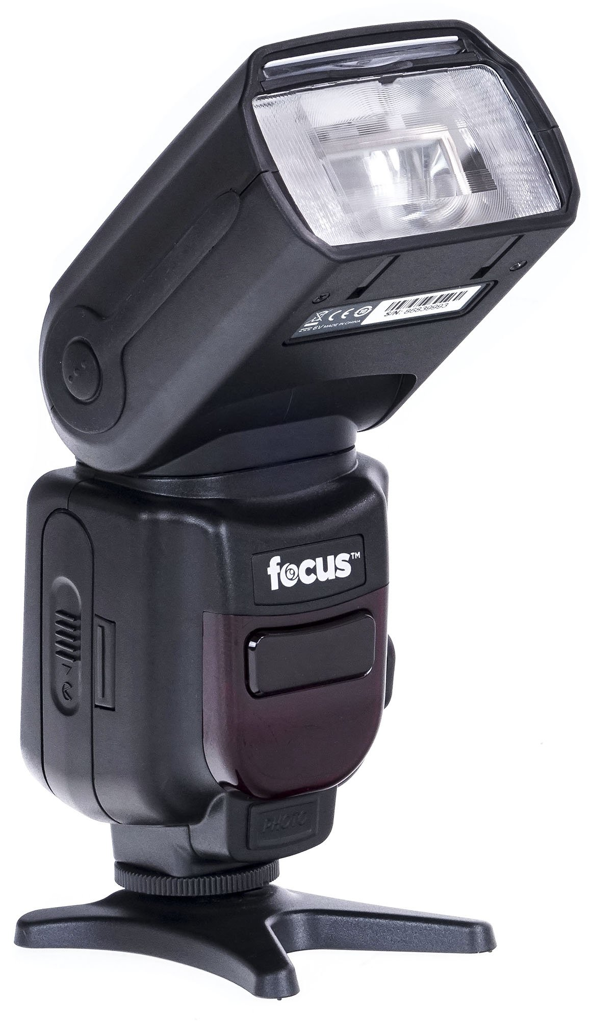 Focus Camera Professional Zoom TTL Speedlite Flash - with Built-in Transmitter/Receiver for Canon and Nikon DSLR Cameras