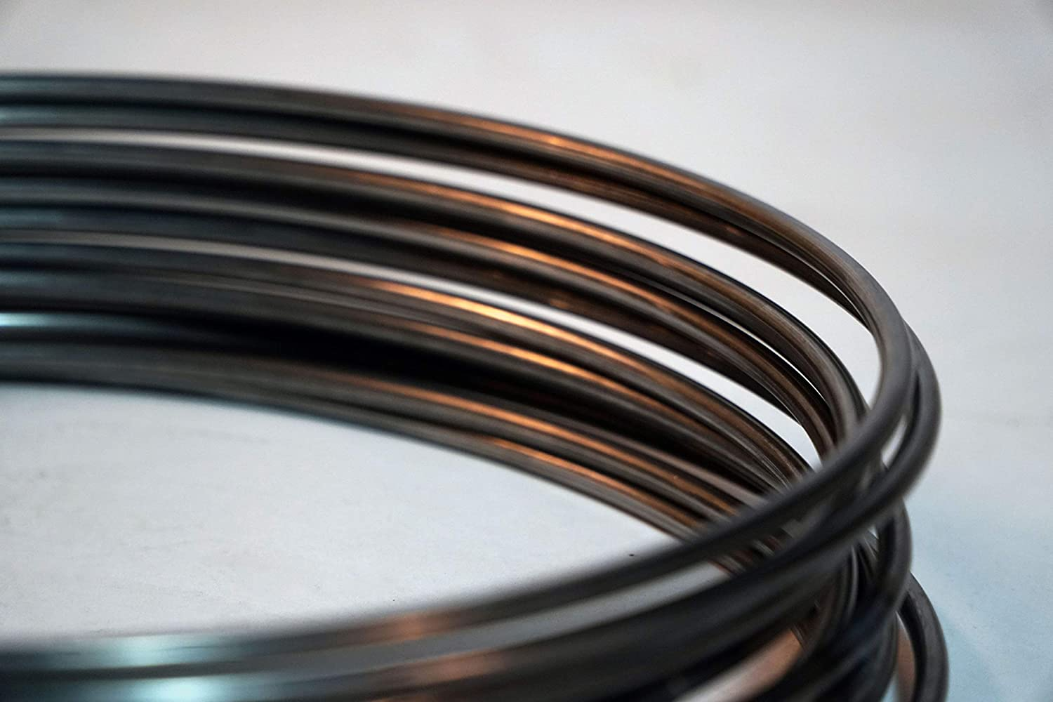 1//4 Thickness Lot of 10 10 Large Steel Rings for Arts /& Crafts Projects