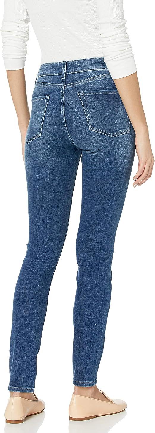 Madison Denim Womens Astor Mid Rise Ankle Bi-Stretch Crop Skinny Jean