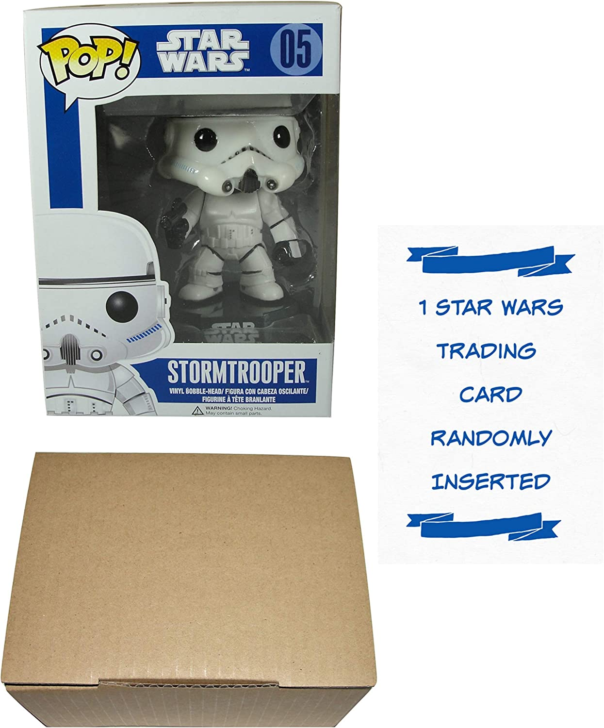 Funko POP Stormtrooper Bobble-Head Figura de vinilo con 1 Star ...
