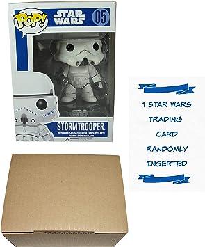 Funko POP Stormtrooper Bobble-Head Figura de vinilo con 1 Star ...