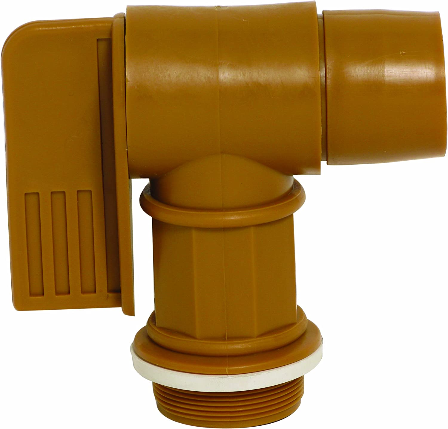 Wesco 272176 Polyethylene Drum Faucet with EPDM Gasket 2 NPT Connection