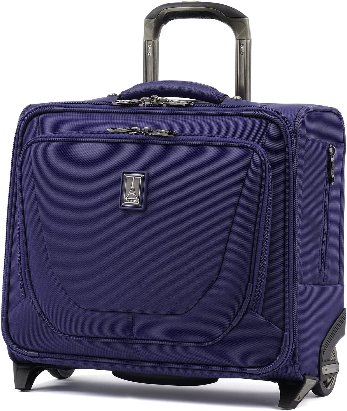 Travelpro Crew 11 - Rolling Underseat Tote Carry-On Bag, Indigo, 16-Inch