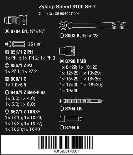 05078195001 RATCHET Insert 7772 C Reversible 1//2 Zoll