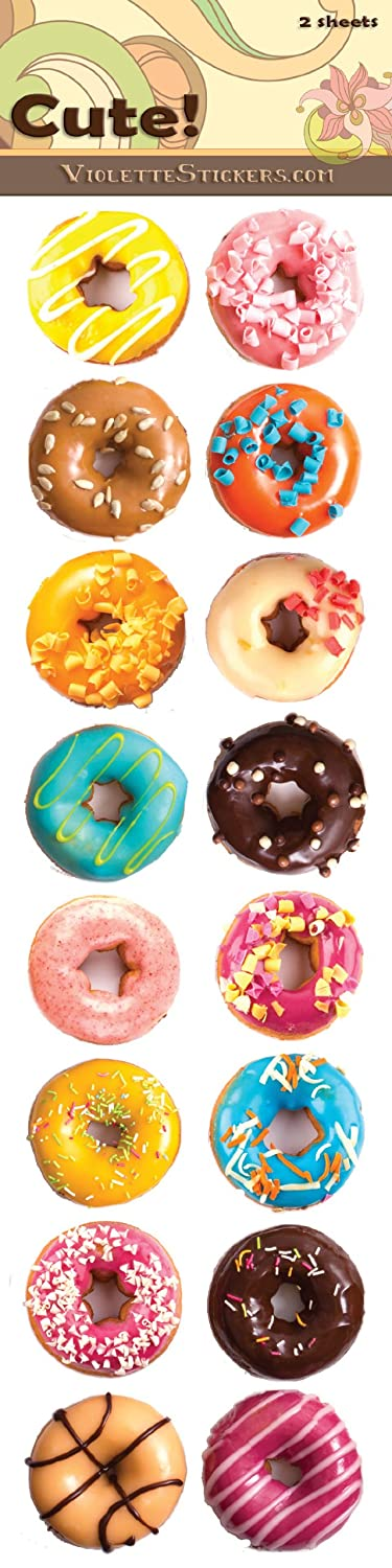 Donut stickers office products