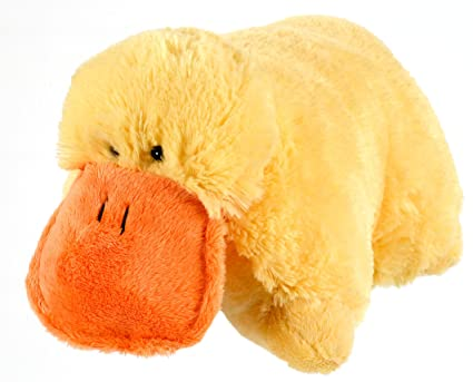 Amazoncom My Pillow Pet Duck Large Yellow Toys Games