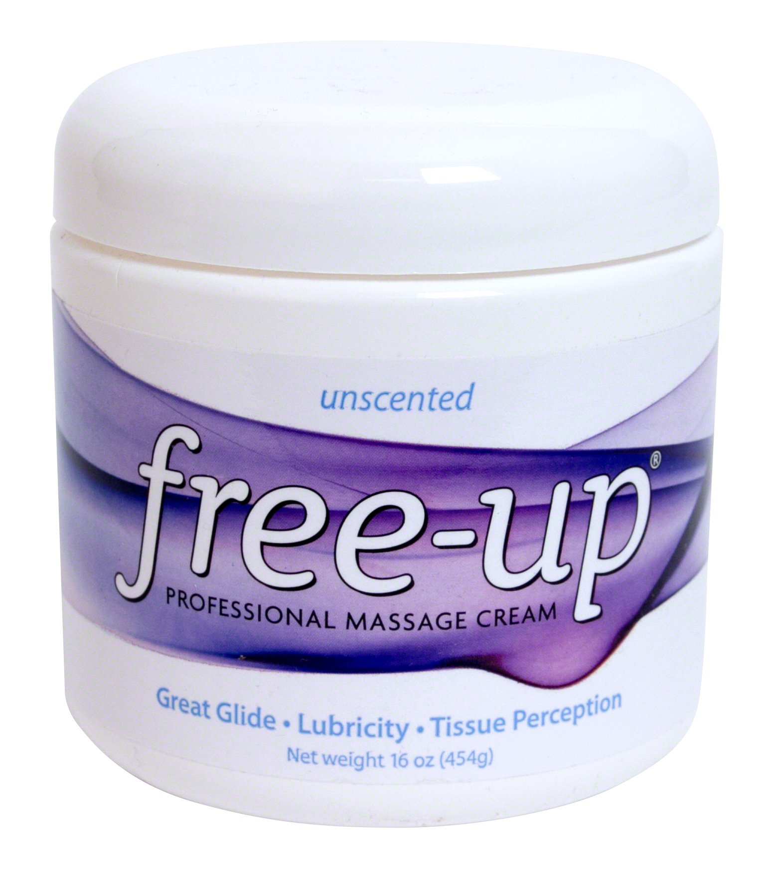 PrePak Products Freeup Massage Cream Unscented Net WT. 16 oz (454g) by PrePak Products