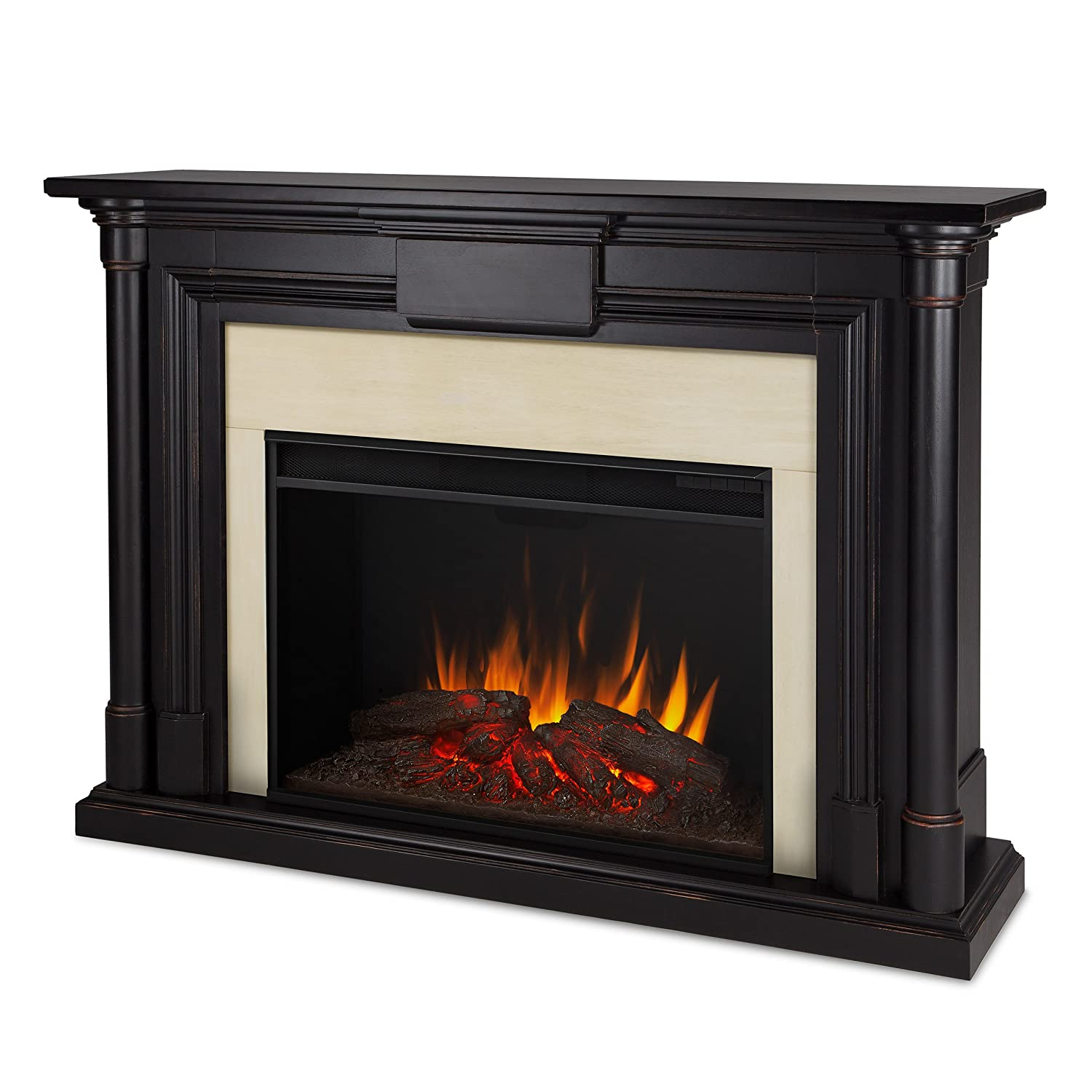 amazon com real flame 8030e bw maxwell grand electric fireplace