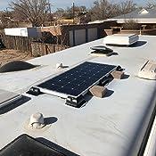 Amazon Com Renogy Solar Panel Roof Drill Free Corner