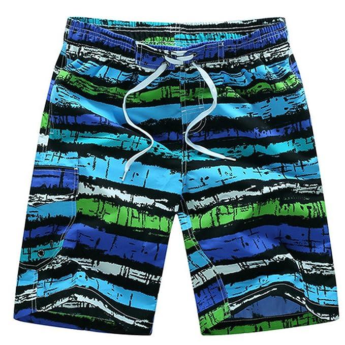11d7b1b895 Cheryl Bull Men Board Shorts Comfortable Male Vacation Beach Short M-3XL  Blue Asian Size