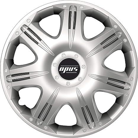 Silver Set 4 16 Opus Wheel Trims