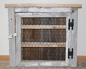 Country Barnwood Spice Cabinet For The Kitchen Or Would Make A Great Medicine  Cabinet For The