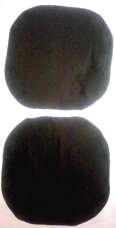 FODERA, COPRI per Sedie da Ufficio (COPRI SOLO): schienale 50-52cm; sedile 50-52cm NERO Kerrykins PL2De