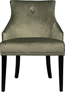 Right2Home Bella Moss Dining Chair, Green