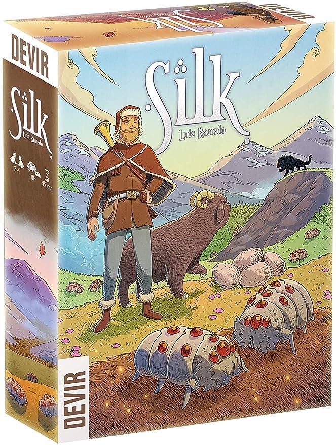 Devir - Silk, Juego de Tablero (BGSILK): Amazon.es: Juguetes y juegos
