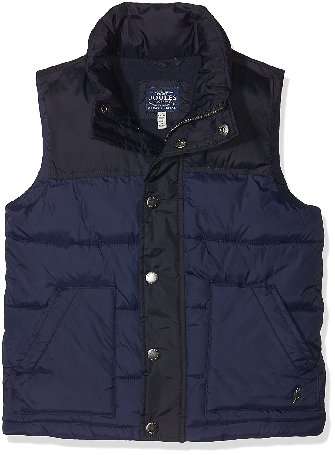 Joules OUTERWEAR ボーイズ Age 7-8 Marine Navy B0792NY8L8