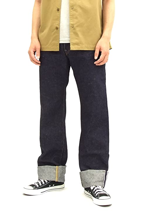 Samurai Jeans Men's Jeans 17 Oz. One Wash Selvedge Denim S5000VX (29 inch)