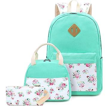 Amazon.com: Juego de mochilas escolares para adolescentes y ...