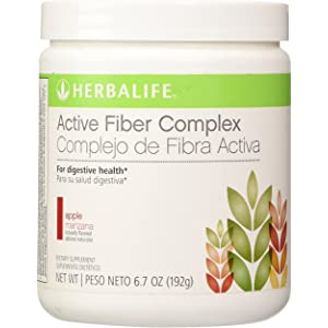 HERBALIFE ACTIVE FIBER COMPLEX APPLE FLAVOR 6.7 OZ