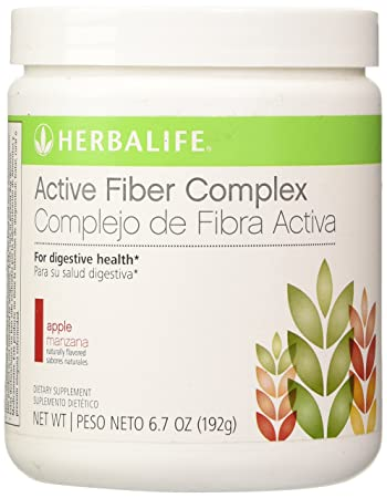 Amazon.com: HERBALIFE ACTIVE FIBER COMPLEX APPLE FLAVOR 6.7 OZ ...