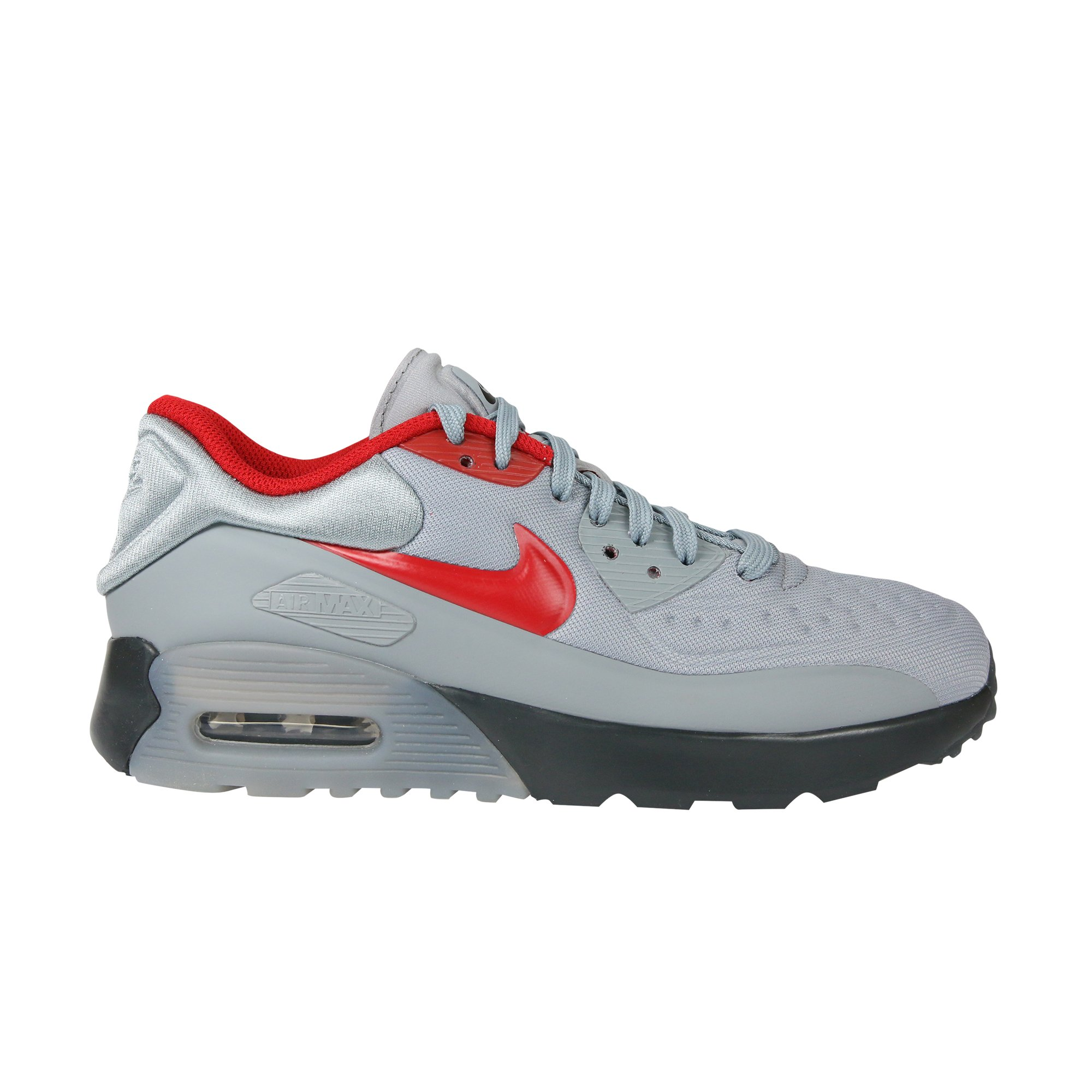 NIKE Kids Air Max 90 Ultra SE (GS) StealthGym Red Anthracite Running Shoe 4.5 Kids US