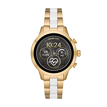 f8cc0fc28e30 Image Unavailable. Image not available for. Color  Michael Kors Access  Womens Runway Touchscreen Smartwatch Stainless Steel Bracelet ...