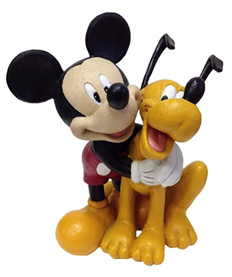 Design International Group Garden Statue Mickey U0026 Pluto , 12 X 12 Inches