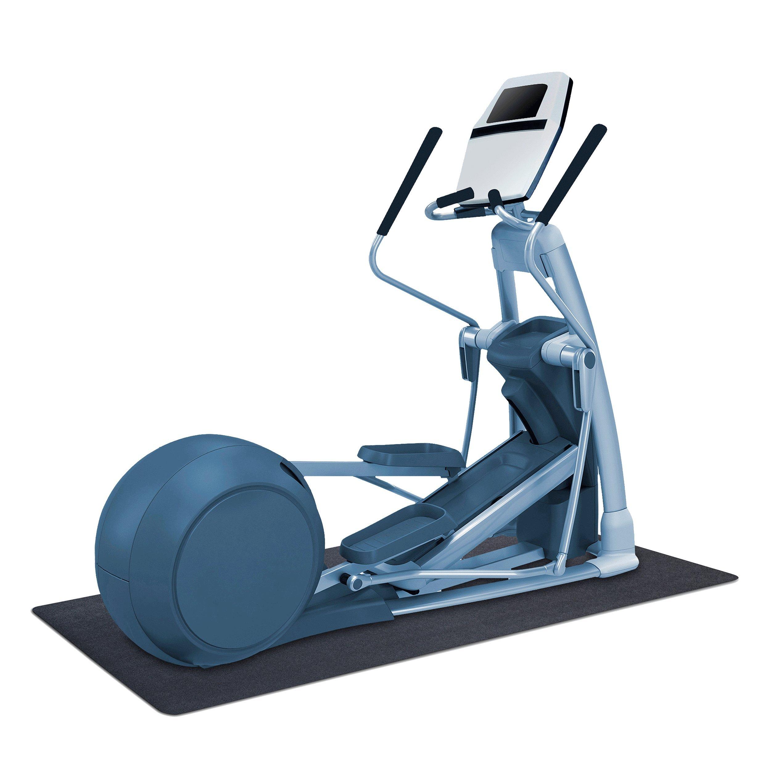 MotionTex 8M-110-30C-6.5 Fitness Equipment Mat, 30'' x 78'', Black by MotionTex