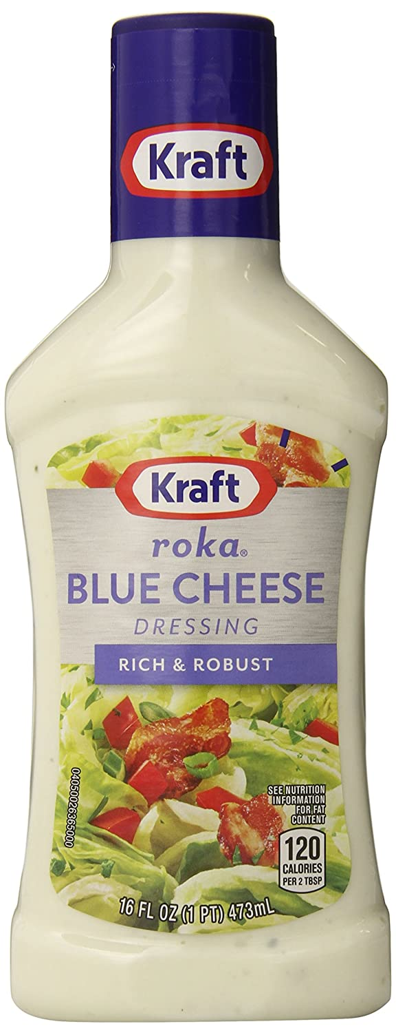 Kraft blue cheese salad dressing calories