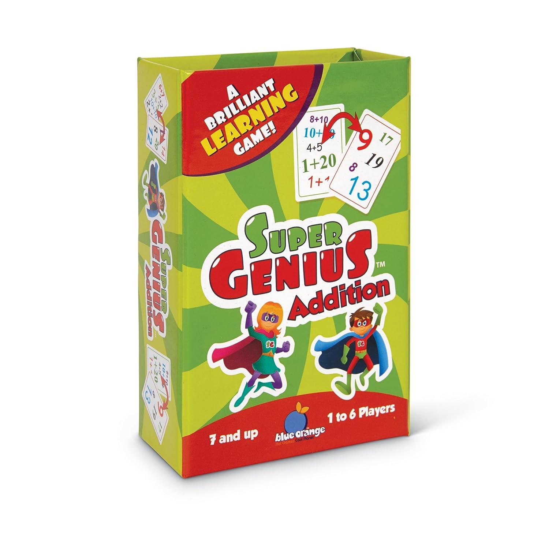 Amazon.com: Blue Orange Super Genius - Addition: Toys & Games