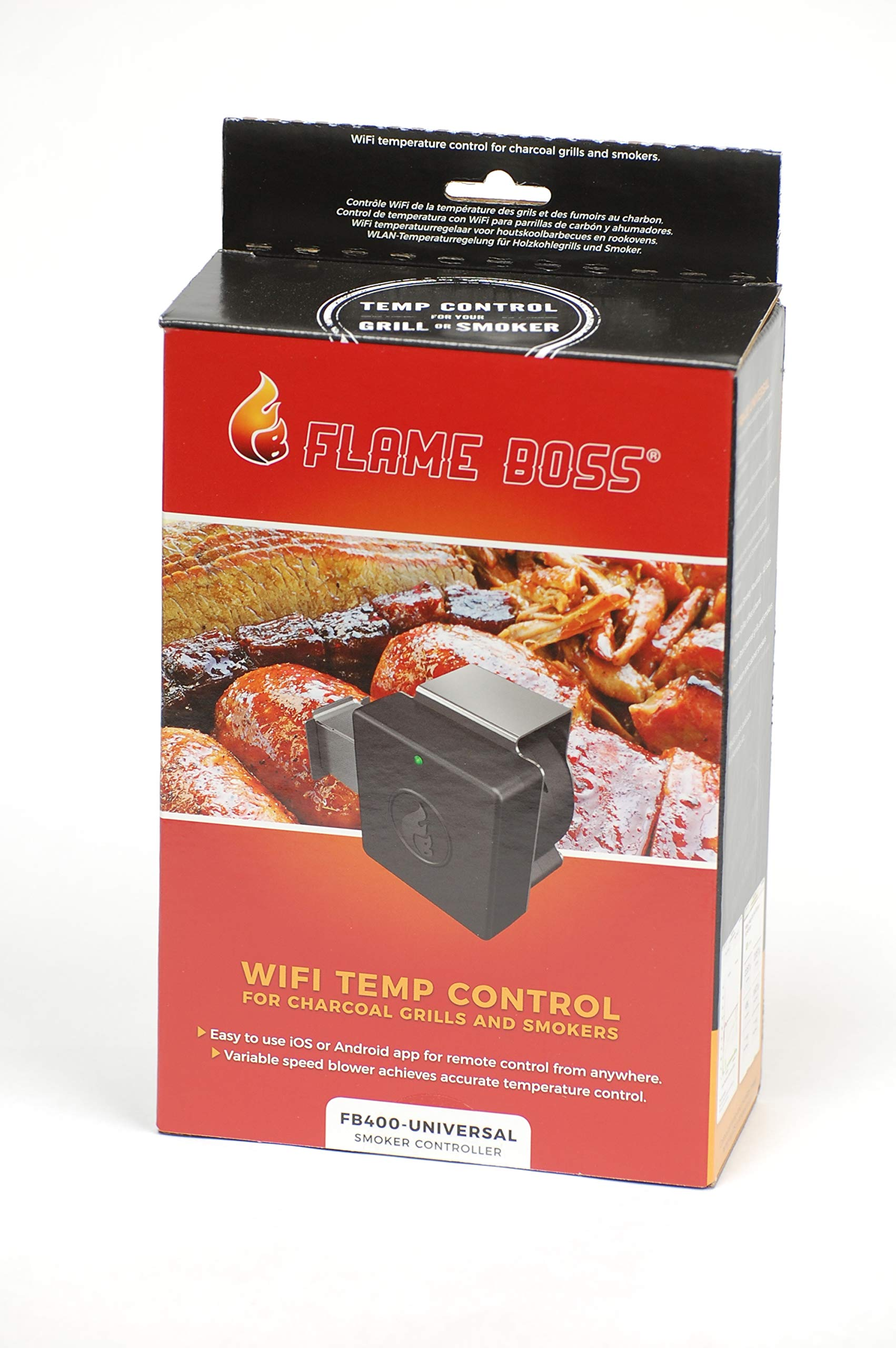 Flame Boss 400 WiFi Universal Smoker Controller - Not for Ceramic Style Grills