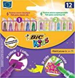 Flamastry Bic Kids Mini Colour & Create 12 sztuk