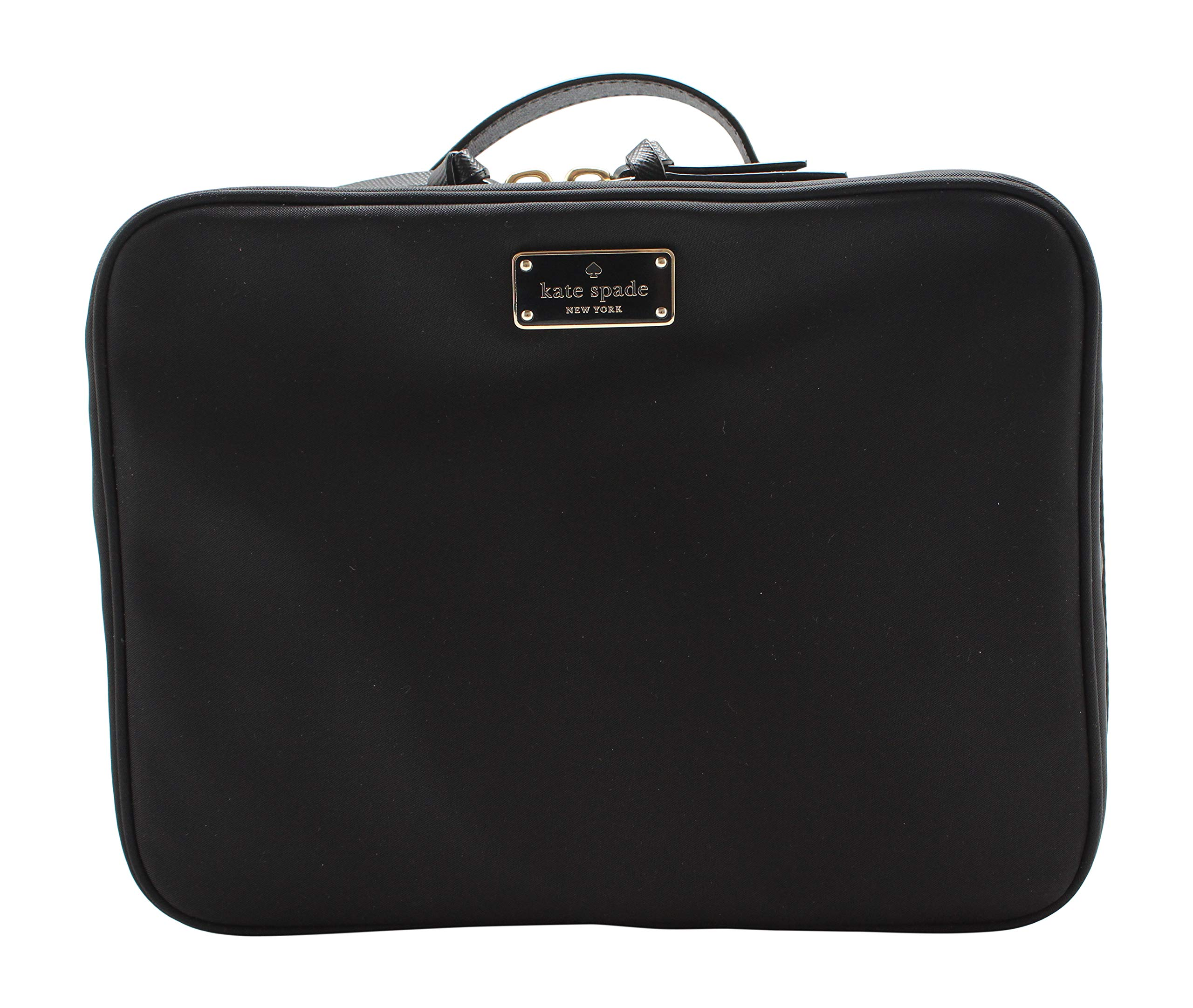 Kate Spade New York Large Wilson Road Martie Travel Cosmetic Case Bag (Black) by Kate Spade New York