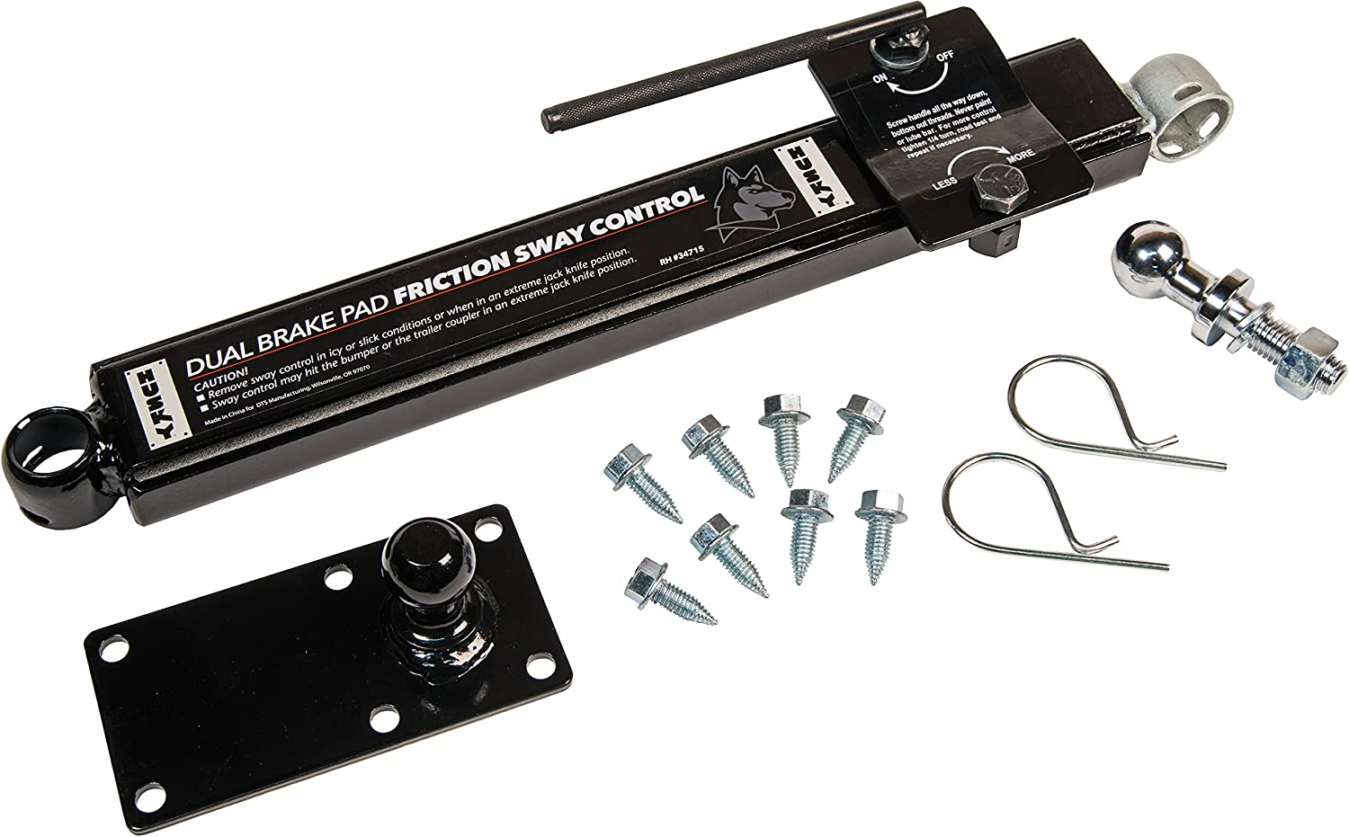 Renewed EAZ LIFT Screw-On Sway Control Right-Mounted Passenger Side 48380