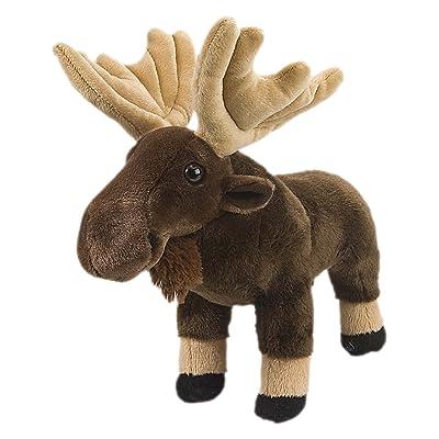 """Wild Republic Moose Plush, Stuffed Animal, Plush Toy, Gifts for Kids, Cuddlekins 12"""": Wild Republic: Toys & Games"""