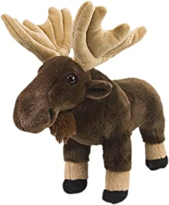 Wild Republic Moose Plush, Stuffed Animal, Plush Toy, Gifts for Kids, Cuddlekins 12""