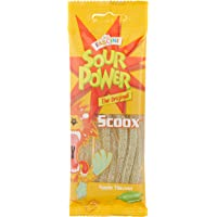 Fascini Sour Power Scoox Candy Sticks, Apple, 40 g